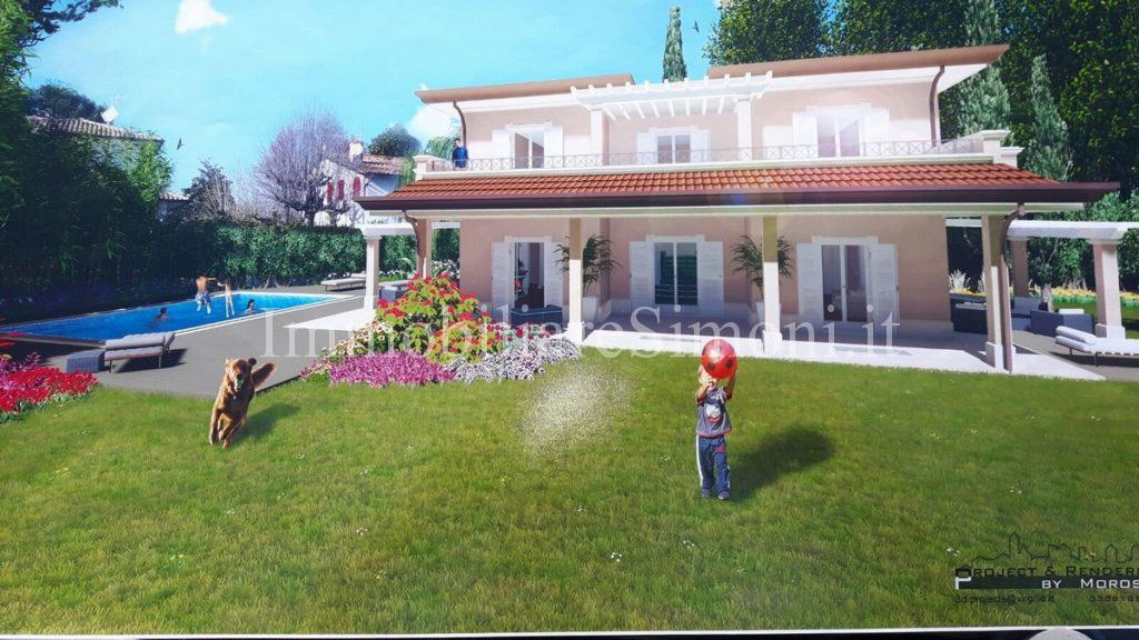 Villa al grezzo con piscina a forte dei marmi roma - Villa con piscina roma ...