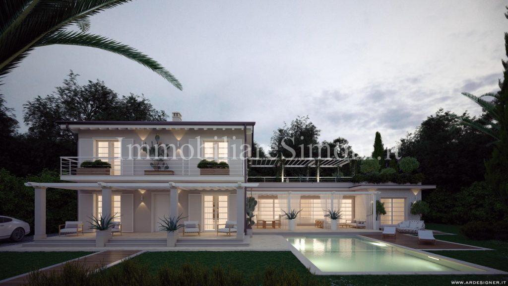 Villa da ristrutturare con piscina a forte dei marmi - Progetto villa con piscina ...